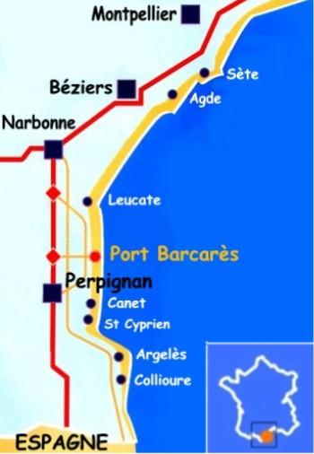 Itin 233 Raire Location Les Jardins Du Rivage Port Barcar 232 S